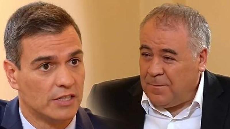 Los jefes del Ibex 35 recortan 15 millones sus sueldos y el Gobierno Sánchez y los 'progres' de la televisión, ni un céntimo