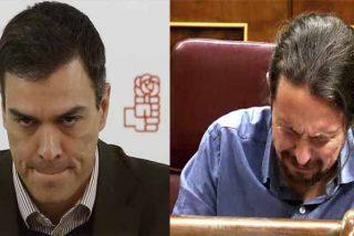 Pedro Sánchez asesta la primera 'patada en la boca' a Pablo Iglesias por los errores de los 'ministros becarios'