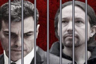 Presentan ante el juez la primera denuncia contra el 'prevaricador' Sánchez por permitir las marchas del 8-M en plena epidemia