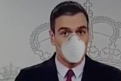 'El País' airea por error, en plena 'crisis coronavirus', una atroz mentira de Sánchez de graves consecuencias