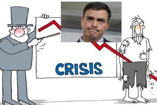 España: la recesión económica durará más de un año, generará un millón de parados y se llevara por delante al Gobierno socialcomunista