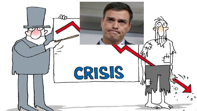 Economía: ningún país europeo se hundirá tanto como España en PIB, paro y déficit