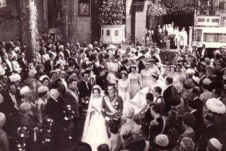 Príncipe Juan Carlos, boda en Atenas