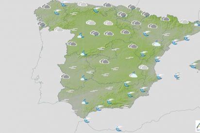 Pronóstico del Tiempo: suben las temperaturas, pero seguirá nuboso y con viento