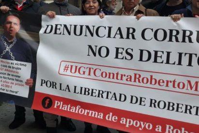 Filtró los papeles del sindicato UGT al ser una