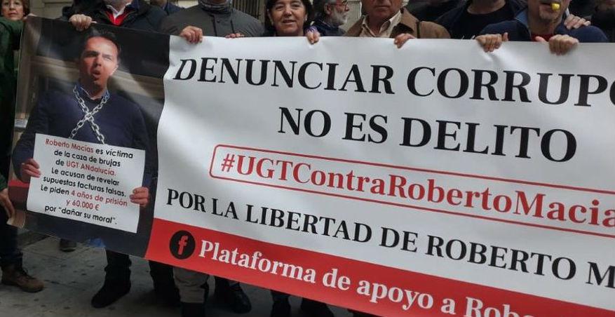 """Filtró los papeles del sindicato UGT al ser una """"organización criminal"""""""