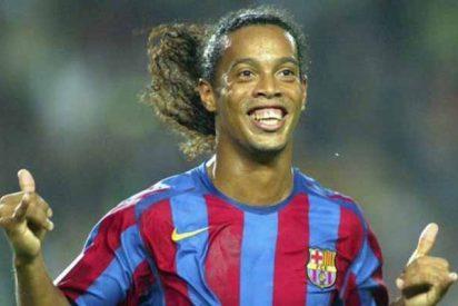 Ronaldinho se la está 'pasando pipa' en la cárcel, sale a la luz la primera foto