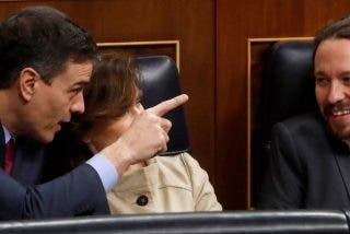 En Podemos creen que Sánchez se terminará infectando e Iglesias será 'presidente' y en el PSOE se movilizan para cortarle el paso