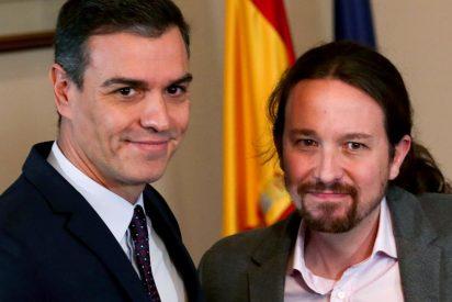 Las redes difunden una siniestra foto de Pedro Sánchez que ni Gobierno ni CNI pueden frenar