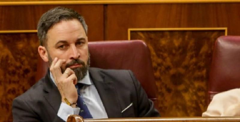 Santiago Abascal, líder de VOX, también da positivo por coronavirus