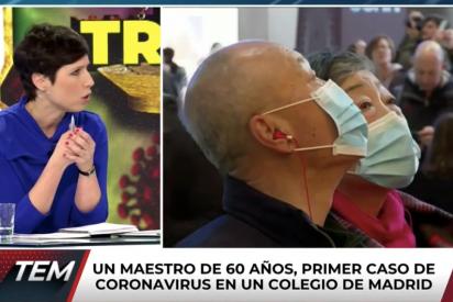 """El Quilombo / Barbie Nebot suelta el bulo de que el coronavirus """"no mata"""" y el primer fallecido en España le chafa la exclusiva"""