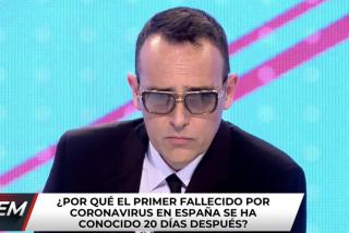 """El Quilombo / Risto Mejide admite que hizo el ridículo cuando acusaba a los medios de alarmistas por el coronavirus: """"Nos han engañado"""""""