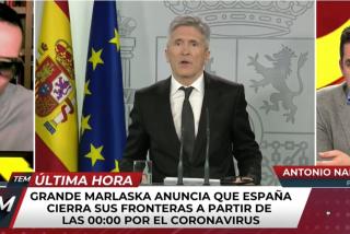 """El Quilombo / Risto Mejide le aplica la mordaza chavista a Naranjo por criticar a Sánchez: """"No es tiempo ahora de reproches"""""""