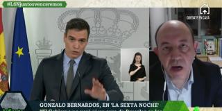 """El Quilombo / El economista más servil al Gobierno se pasea por las televisiones elogiando a Sánchez: """"Está protegiendo a los trabajadores"""""""