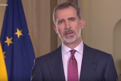 Anián Berto : 'Nuestro Rey no puede ser zarandeado por estos políticos. Detrás estamos todos'.