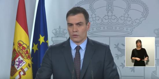 Pedro Sánchez oculta en su patética comparecencia televisiva que la OMS le advirtió de que tomara medidas contra el COVID-19