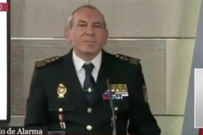 El portavoz de la Policía dinamita la gran mentira de Sánchez sobre el coronavirus en 15 segundos gloriosos