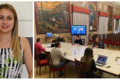 Una diputada provincial del PSOE, pillada viendo series de HBO durante un pleno por el coronavirus
