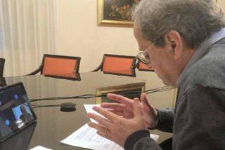 Otra puñalada del independentismo su socio Sánchez: Quim Torra envía cartas a los líderes europeos criticando la gestión del coronavirus