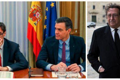 Ussía diagnostica que el coronavirus ya habría echado a Sánchez si TVE y el duopolio Atresmedia-Mediaset no estuvieran sometidos a su capricho