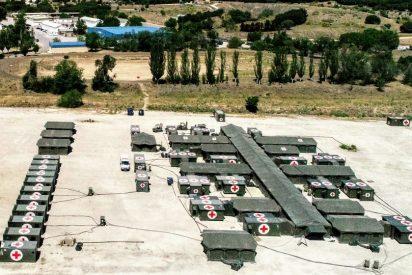 Ejército Español: Pedro Sánchez disolvió hace 9 meses la unidad militar dedicada a levantar hospitales de campaña