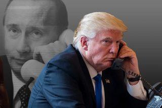Donald Trump a Vladimir Putin: