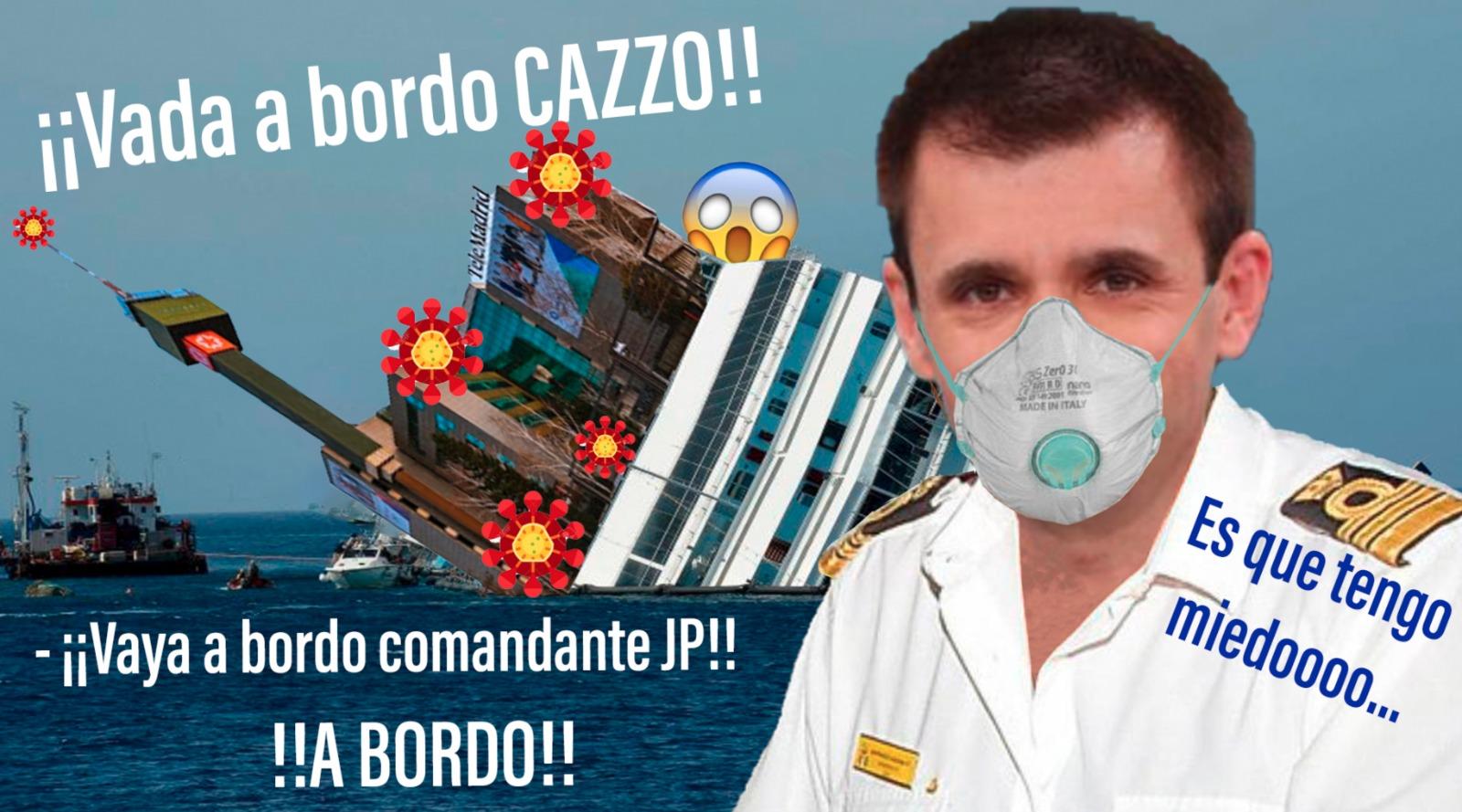 El director general de Telemadrid se queda en su casa por miedo al coronavirus y las redes lo crujen a memes