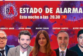Vea el estreno de 'Estado de Alarma', el programa que desmontó a Sánchez e Iglesias y batió todos los récords de audiencia