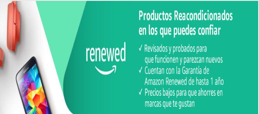 Productos reacondicionados en Amazon