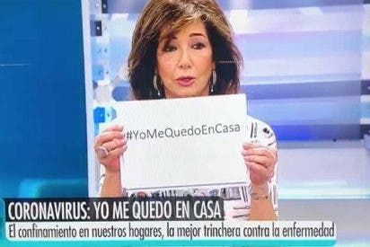 """El emotivo mensaje de Ana Rosa Quintana para que nos quedemos en casa: """"Protejamos a los nuestros... ¡todos a una!"""""""
