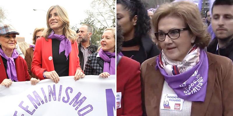 La madre de Pedro Sánchez, positivo en coronavirus: estuvo en la 'zona cero' del 8M junto a otras ministras contagiadas