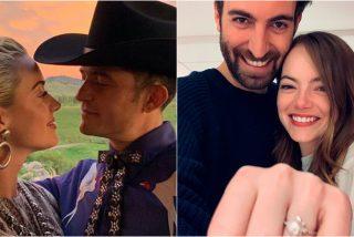 Katy Perry y Orlando Bloom suspenden su boda tras anunciar que esperan un hijo
