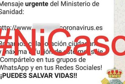 La Guardia Civil advierte del peligroso 'bulo' del coronavirus que se viraliza en Whatsapp