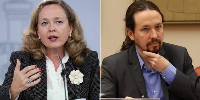 Calviño se enfrenta a la parte podemita del Gobierno que quiere suspender el pago de alquileres