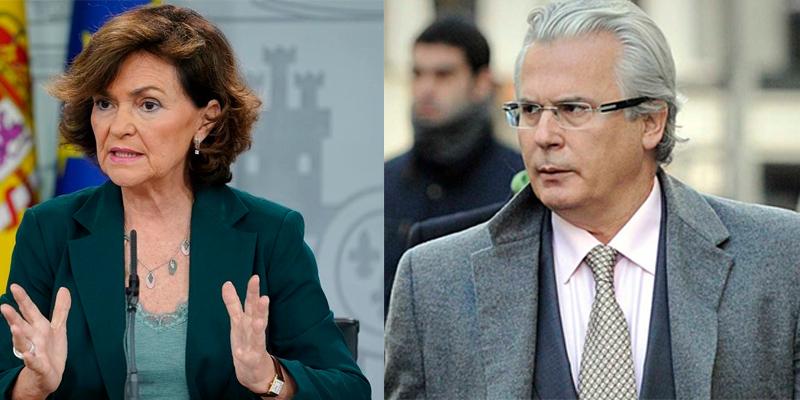 Atender a Carmen Calvo y Baltasar Garzón en la Clínica Ruber, hasta 10 veces más costoso que en la pública