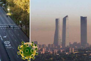 Lo que mata el coronavirus en Madrid... ¿Se está salvando por el 'parón' en la ciudad y la bajada de la contaminación?