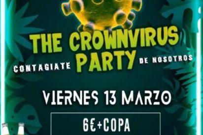 Una discoteca indigna a toda España por la celebración del 'The Crownvirus Party'