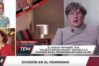 El Burladero / Activista trans se pone macarra y amenza con zurrar a quienes no las acojan durante el 8-M