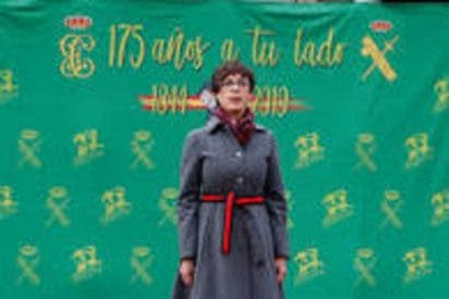 La nueva directora general de la Guardia Civil una esperanza de aire fresco, la primera mujer en la Guardia Civil, como Luis Roldán el primer civil