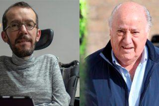 Varapalo bestial a Echenique: ataca a Amancio Ortega por sus donaciones y le fulminan con sus 'trapos sucios'