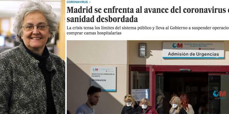 La jeta de 'Lo País': el diario de PRISA se hunde en el fango por sacar tajada a favor de la izquierda con la terrible situación del coronavirus