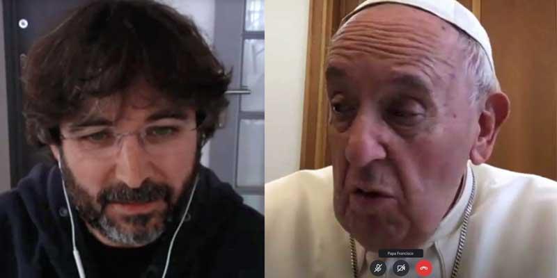 El Papa Francisco vuelve a atender a Jordi Évole para encontrar en el capitalismo al culpable de la crisis sanitaria del coronavirus