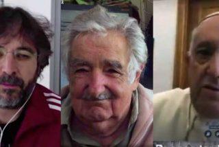 Évole, con sudadera de Adidas, sigue doblando la apuesta contra el capitalismo y la globalización: Jose Mujica coge el relevo del Papa Francisco en laSexta