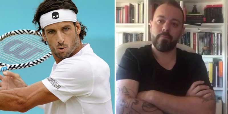 """Hasta el tenista Feliciano López trolea a un abatido Antonio Maestre: """"Voy a leer a Miguel Lacambra un rato hasta que me venza el sueño"""""""