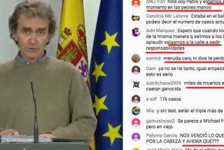 Los españoles piden la cabeza de Fernando Simón, el experto del que la prensa de izquierdas alabó su sentido del humor y que no llevara corbata