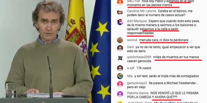 Los españoles piden la cabeza de Fernando Simón, el experto al que la prensa progre alabó su sentido del humor y que no llevara corbata