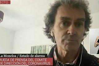¡No se calla ni desde su casa! Fernando Simón contagiado y aislado, insiste: