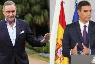 Herrera retrata a Sánchez por las comparecencias a lo 'Aló, presidente' diseñadas por Redondo mientras que pone en valor las donaciones privadas