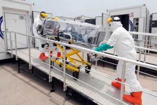 Perú prepara hospital móvil ante posible ingreso de