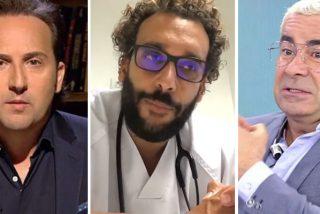 """Iker Jiménez entrevista a 'Spiriman', el médico que sigue destrozando a los de 'Sálvame': """"¡Soplapollas! ¡Mierdas!"""""""
